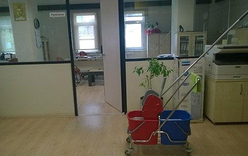 Ofis temizliği hizmeti
