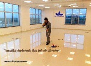 Temizlik Şirketlerinde Ekip Şefi (Supervisor) görev tanımları