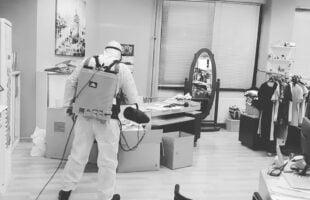 Dezenfekte Şirketi Personeli
